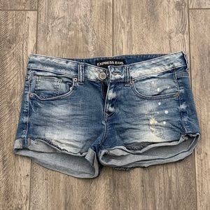 Express Jeans Size 4 Shorts